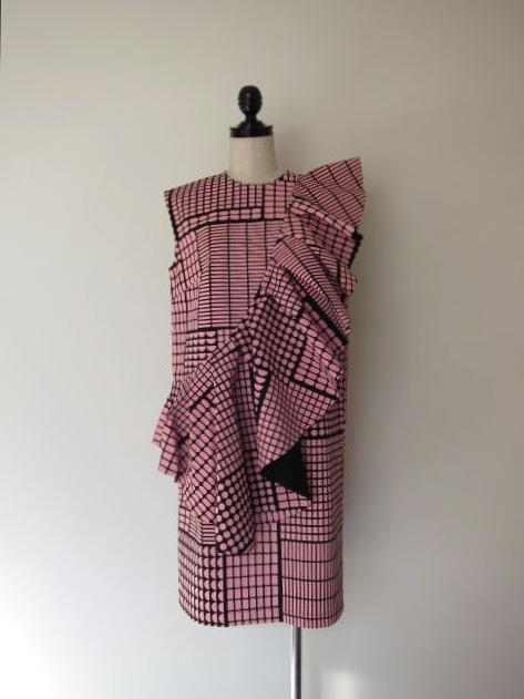 画像1: STARSTYLING PLOTTER ALLOVER DRESS