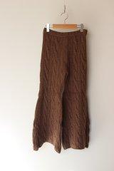 KISHIDAMIKI knit trousers