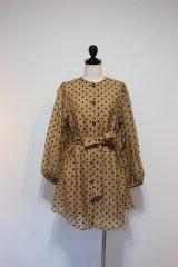 GHOSPEL The Spotlight Belted Mini Dress