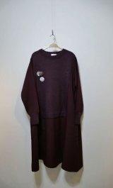 STOF Mohair Knit Mix Onepiece