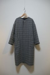 NATIVE VILLAGE Collarless coat