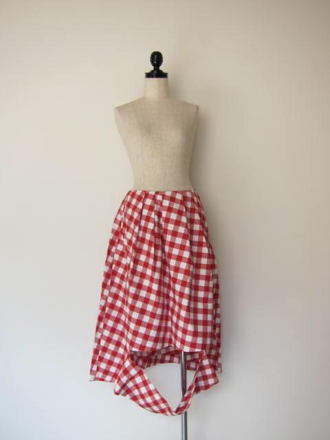 画像1: 30%OFF nancystellasoto cutout skirt