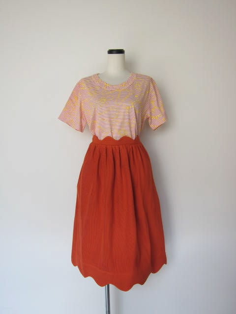 画像1: 30%OFF Eatable of many orders SEMOLINA SKIRT