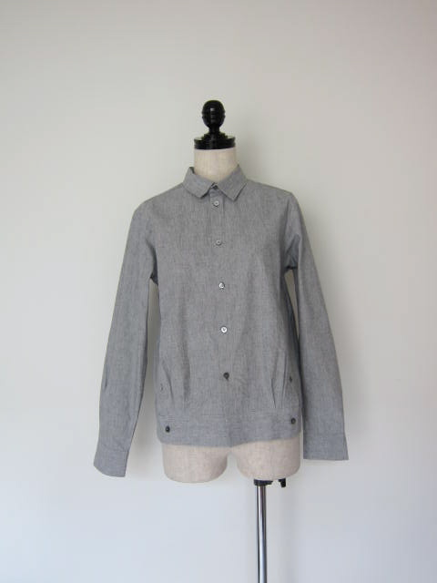 画像1: masao shimizu ダブルカフスシャツ