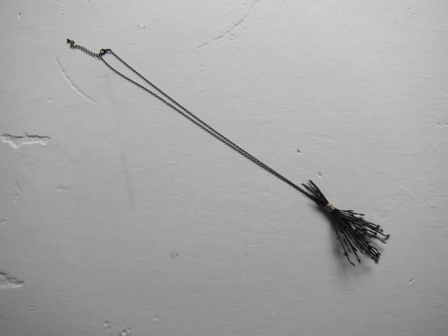 画像1: the last flower of the afternoon Magnolia necklace
