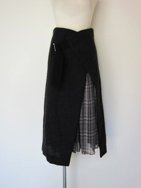 画像2: you ozeki wrap skirt+innner skirt