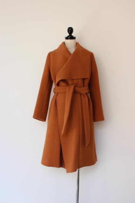 画像1: you ozeki boucle face drape coat